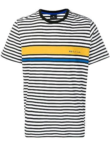 Paul Smith Luxury Fashion Hombre M2R011RA2023914 Blanco T-Shirt ...
