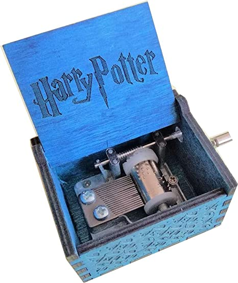 "Pure hand-classical""Harry Potter ""music box hand-wooden music box creative Gifts"