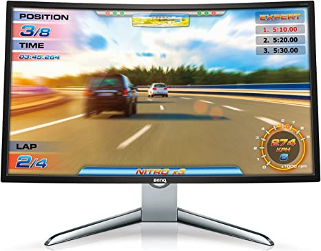 "Amazon.com: BenQ EX3200R 31.5"" Curved Monitor 1080p 144Hz FreeSync ..."