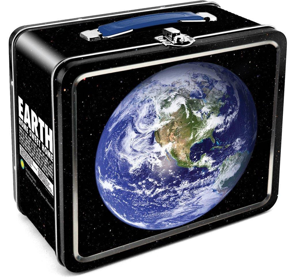 Aquarius Smithsonian Earth Tin Large Tin Fun Box by Aquarius