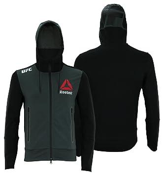 750a1a61 Reebok UFC Mens Full Zip Walkout Hoodie