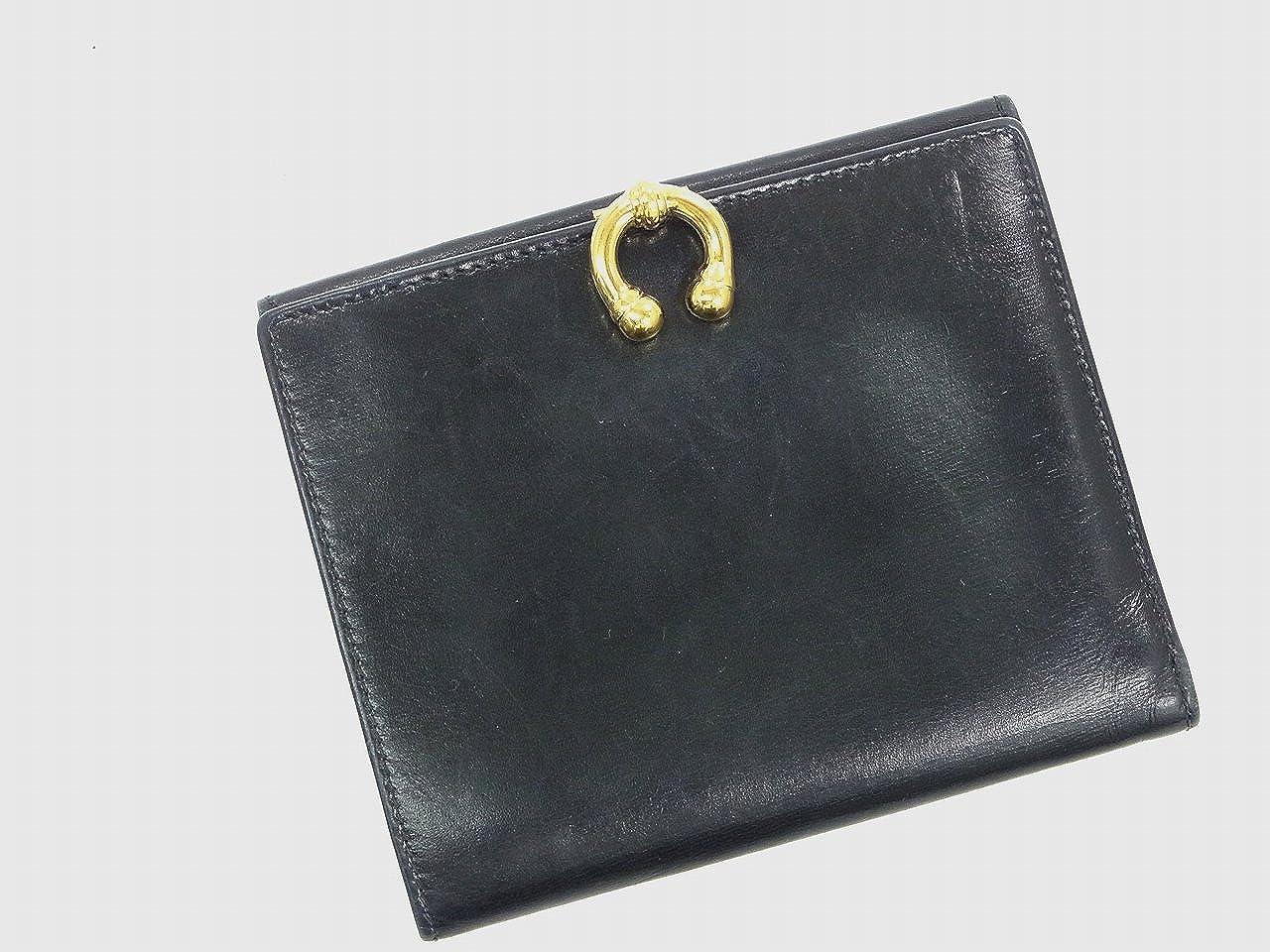 [グッチ] GUCCI 二つ折り財布 レザー X10177 中古   B01BHGZCM6