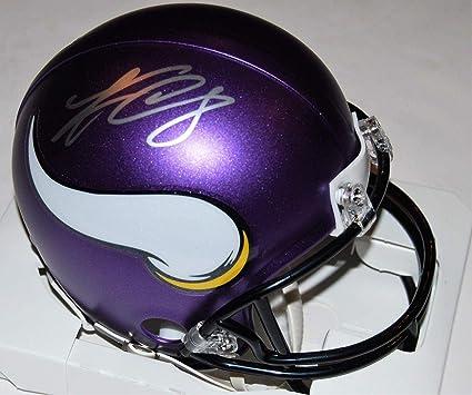 ec73fbad21a Autographed Kirk Cousins Helmet - mini  SKOL  W COA - Autographed NFL Mini  Helmets