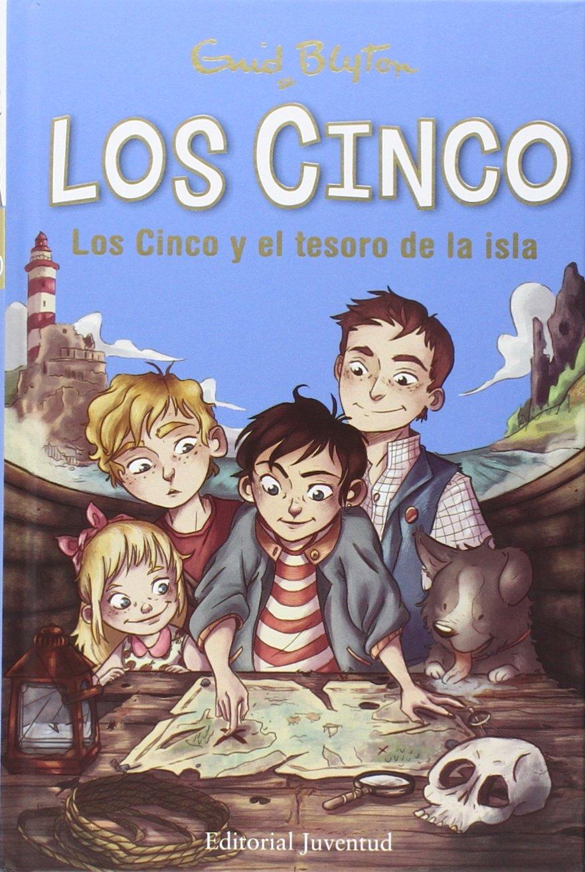 Los Cinco y el tesoro de la isla: Amazon.es: Blyton, Enid, Vidal ...