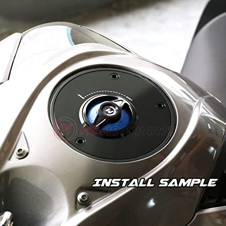 Gold REVO-B Quick Lock Fuel Tank Cap For Yamaha YZF R6 99-19 YZF R1 98-19 MT03 06-09 16-19 MT09 13-19 MT07 14-19 MT10