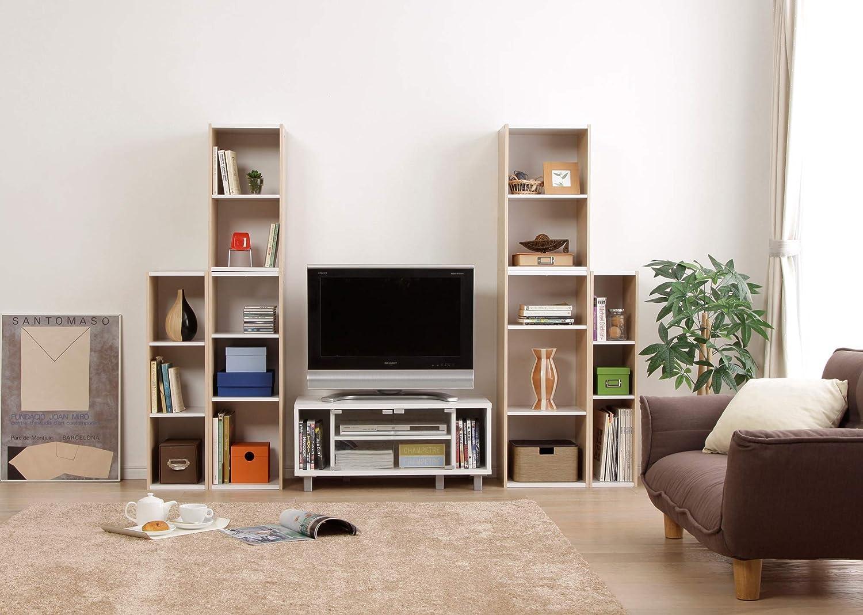 Movian 2 /étag/ères Biblioth/èque modulaire en MDF Beige 30 x 29 x 60 cm Marque