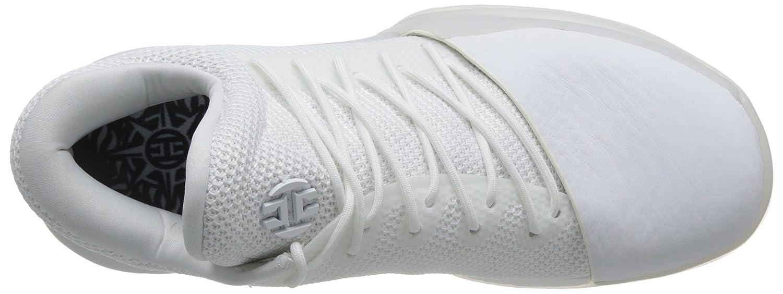 adidas Harden Vol. 1, Chaussures de Sport Homme Multicolore (Ftwbla / Ftwbla / Tinley)