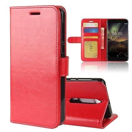 purchase cheap b946b 2dd88 Amazon.com: Torubia Oppo A83 Case, Oppo A83 Flap Folio Flip Cover ...