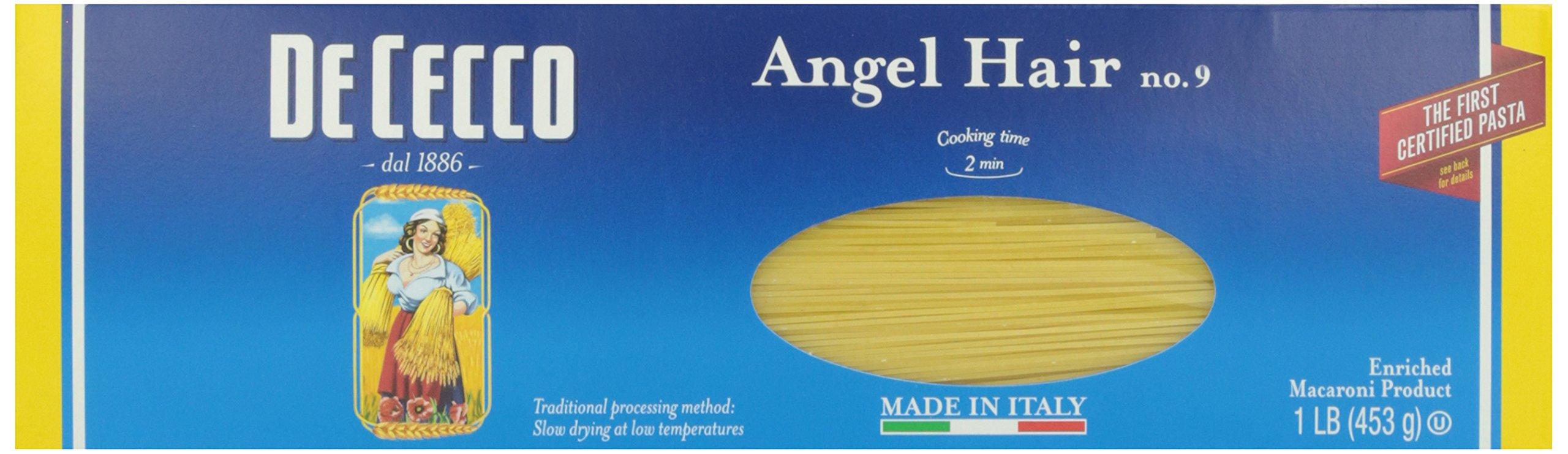 De Cecco Pasta Angel Hair No. 9, 16 oz