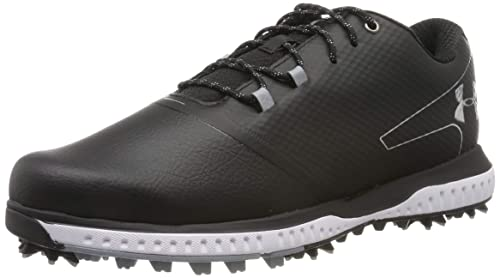 f936735dc Under Armour Men's Fade RST 2 E Golf Shoes, Black/Steel/Metallic Silver