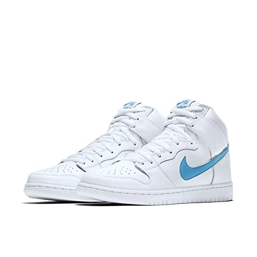 best website c8b25 e8a9c NIKE SB Dunk HIGH TRD QS SZ  14 881758-141 White  Buy Online at Low Prices  in India - Amazon.in