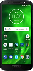 Moto G6 with Alexa Hands-Free – 64 GB – Unlocked (AT&T/Sprint/T-Mobile/Verizon) – Deep Indigo – Prime Exclusive Phone
