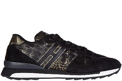 Chaussures baskets sneakers homme en daim r261 allacciato Hogan Rebel UkCn9uKSC