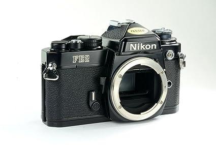 amazon com nikon fe2 film slr camera with black body no lens rh amazon com nikon fe2 manual pdf nikon f2 manual
