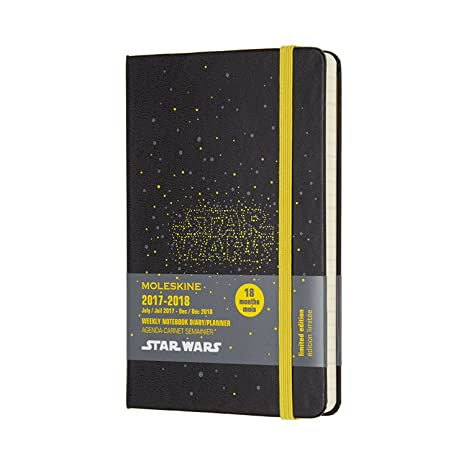 Amazon.com : Moleskine Limited Edition Star Wars, 18 Month ...