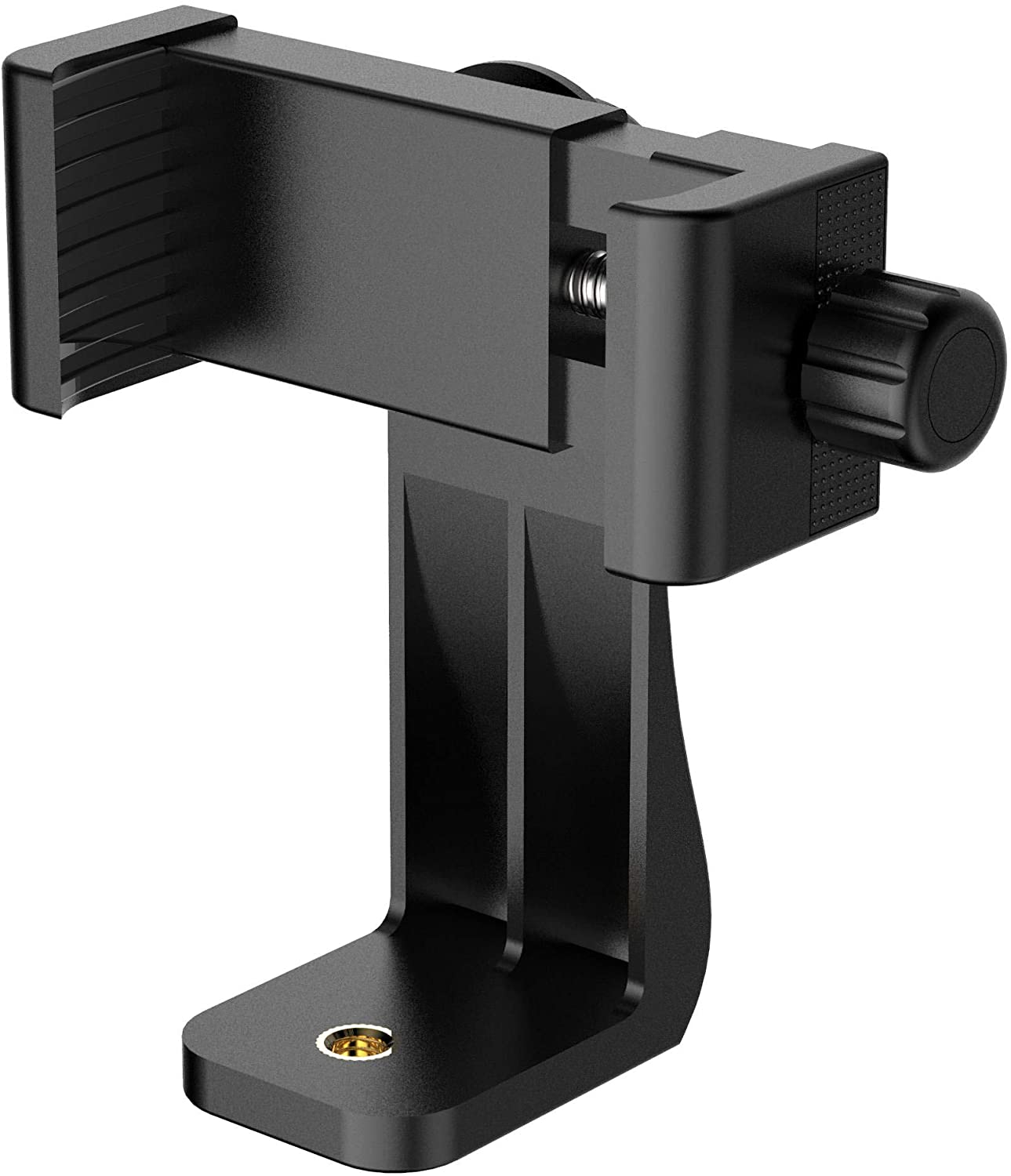 Puroma Universal Cell Phone Tripod Mount Adapter Smartphone Holder Mount Clip for iPhone 8 8plus X, 7 7plus 6 6s 6plus 5 5s, Samsung, Huawei P9 honor 8 and more Phones, Selfie Monopod Adjustable Clamp: Electronics