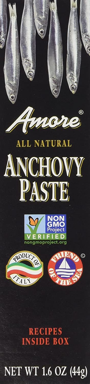 Amore - Italian Anchovy Paste, (2)- 1.6 oz. Tubes
