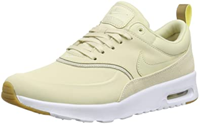 cd30cc3263bbf1 Nike Damen Air Max Thea Premium Sneakers Mehrfarbig Beach Metallic  Gold Sail 001