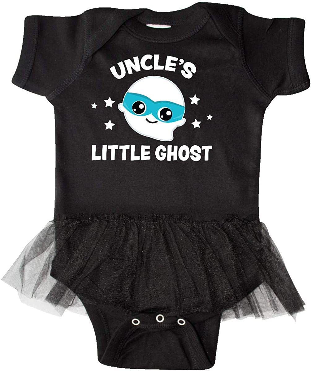 Inktastic Cute Uncles Little Ghost with Stars Infant Tutu Bodysuit