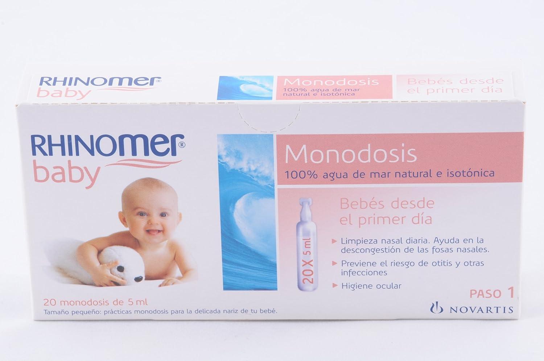 Rhinomer Monodosis 20 U 5 ML CSTLL