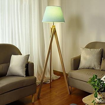 Lámpara de pie Pluma Salón Dormitorio Cama de Noche nórdico ...