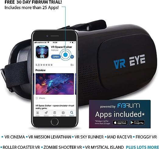 Bitmore VR Eye V2.0 - Casco VR para teléfonos inteligentes 4