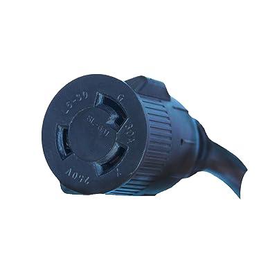 Lotos Technology PT01 Pigtail Type 1, Convert 220V to 110V for LT5000D/LTP5000D/LTPDC2000D/CT520D, Blue (520D, Black: Industrial & Scientific