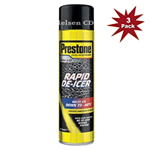 Prestone De-Icer DI600 600ml Down to -25¡C PRE-DI600-3 - 3x600ML = 3 Pack