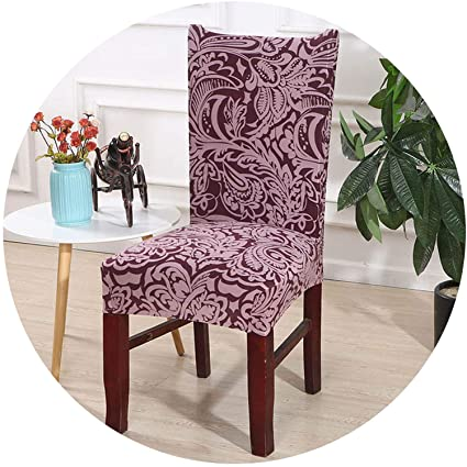 Amazon.com: mamamoo Printed Chair Cover Washable Removable ...