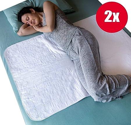 Letto Singolo E Matrimoniale.Impermeabile Bed Protezione Cuscinetto Con Pieghe Lavabile Soaker