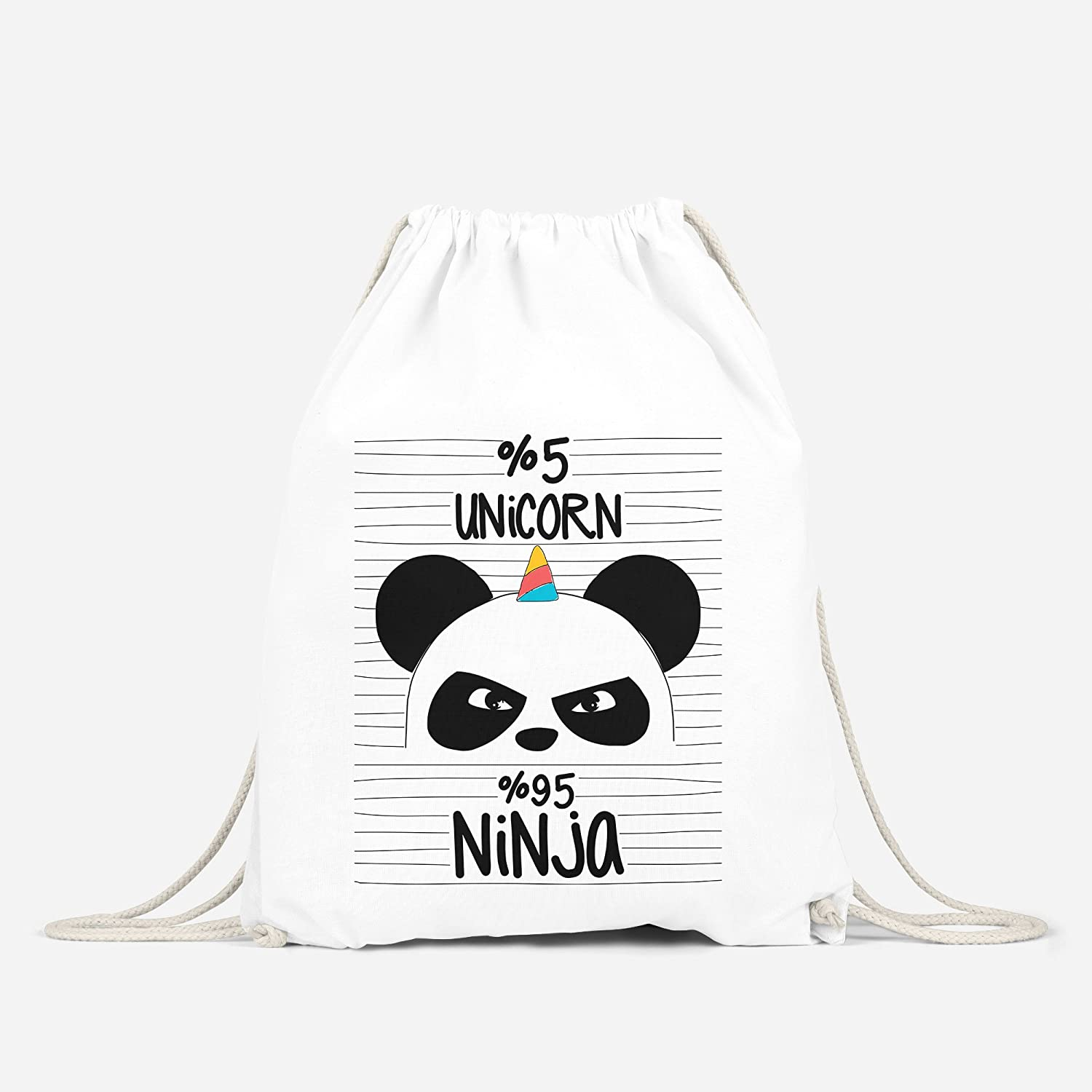 Unicornio Ninja Turn Bolsa Unicorn Pandi Corn Panda Moon ...