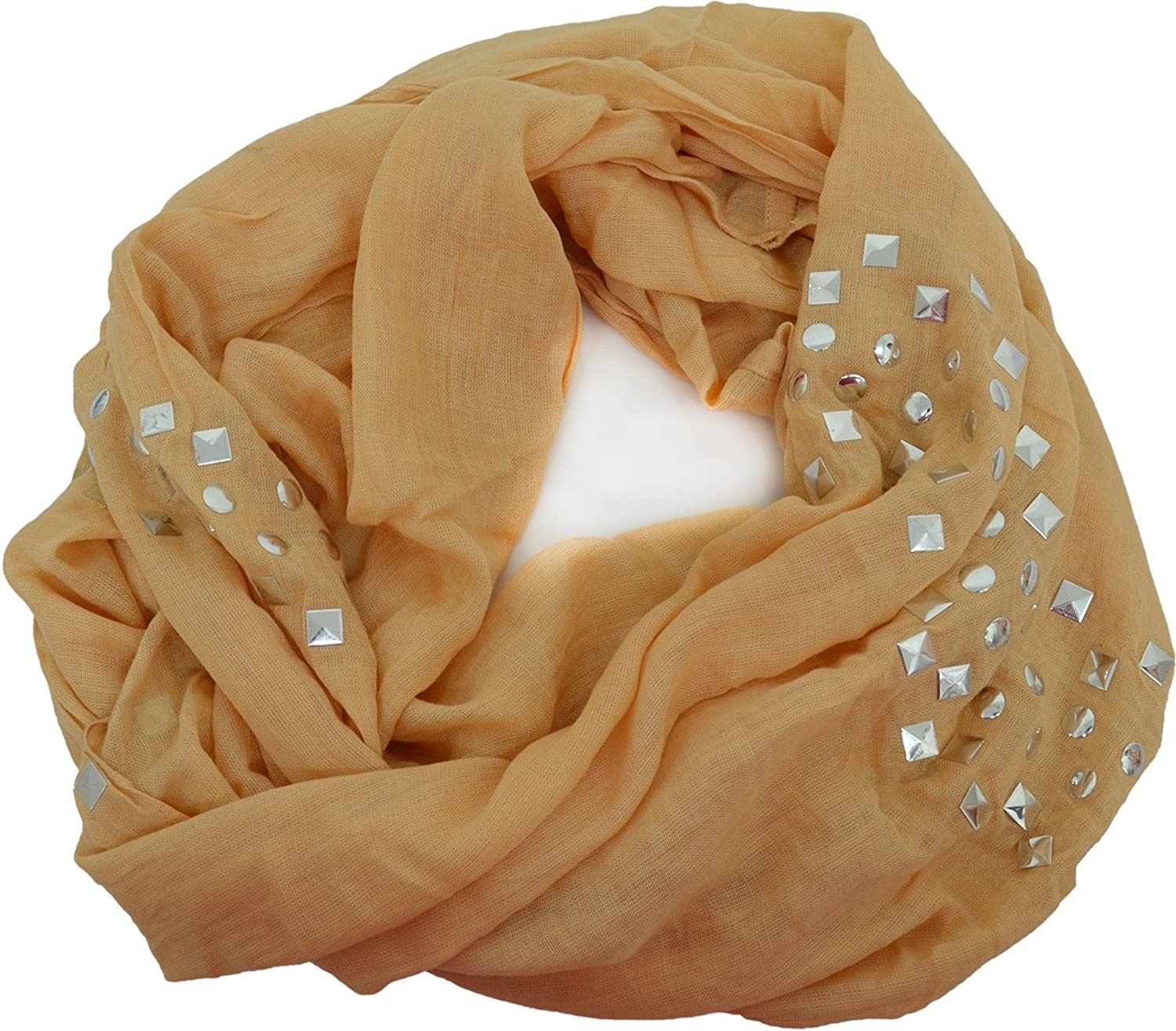 Collection XIIX Womens Infinity Loop Wrap/ Scarf Maple Sugar