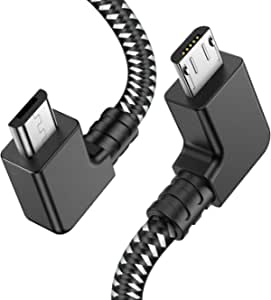 PRO OTG Cable Works for CAT S31 Right Angle Cable Connects You to Any Compatible USB Device with MicroUSB Cable!