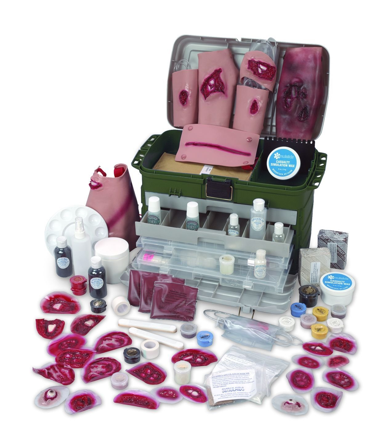 Simulaids Deluxe Casualty Simulation Kit 22'' X 13'' X 15'' Simulation Kit