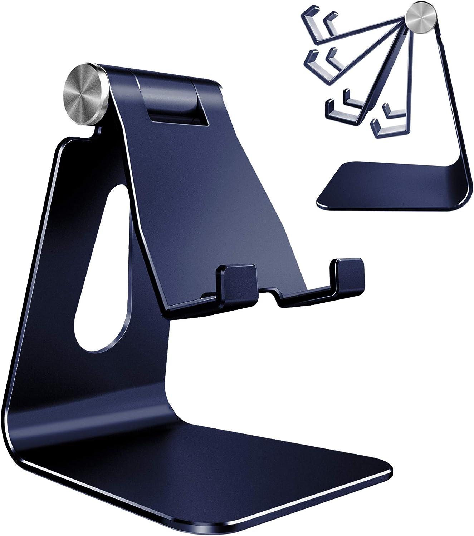 Soporte de aluminio p/ smat phone,, Ajustrable  Azul marino