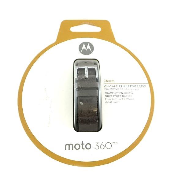 Motorola Moto 360 16 mm Piel Banda de la Mujer Smartwatches ...