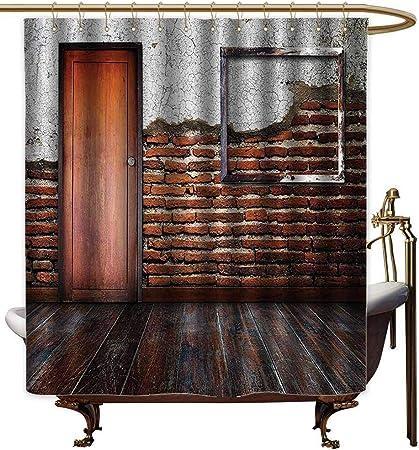 Godves Cortina de Ducha de Viaje, decoración Antigua ...