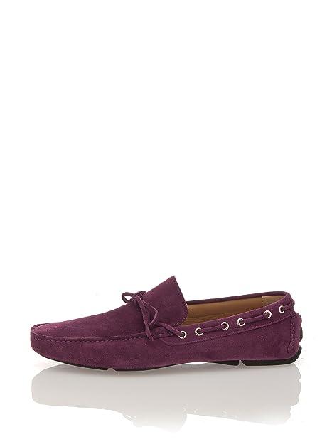 Romeo Gigli Milano Mocasines Morado Oscuro EU 43: Amazon.es: Zapatos y complementos