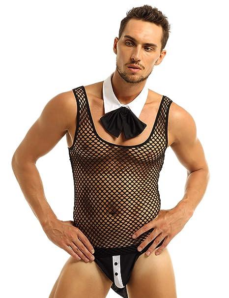 Amazon.com: iiniim - Conjunto de lencería para hombre sexy ...