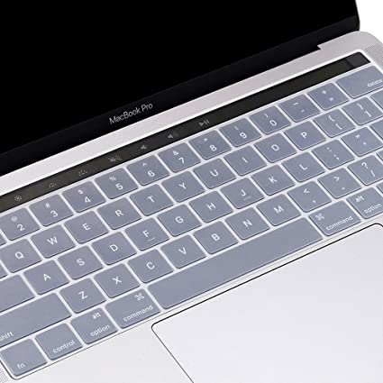 buy popular 594f1 cd65d ProElife Premium Ultra Thin Silicone Keyboard Protector Keyboard Cover Skin  for Apple MacBook Pro with Touch Bar Retina 13