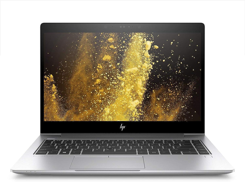 """HP Elitebook 840 G5 - 14"""" FHD - i5-8350U Quad Core - 8 GB RAM - 256 SSD - Windows 10 Pro 64 (Renewed)"""