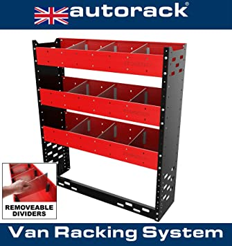 7f0f60d2f5 Autorack Products STORETIDY VAN RACKING SYSTEM - VAN SHELVING UNIT- Steel.  (Made in