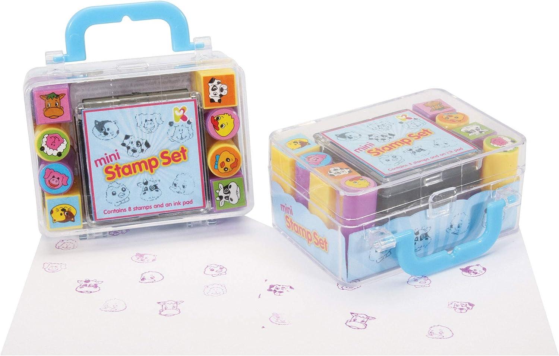 Keycraft Mini Set de Sellos, Multicolor (9700018): Amazon.es: Juguetes y juegos