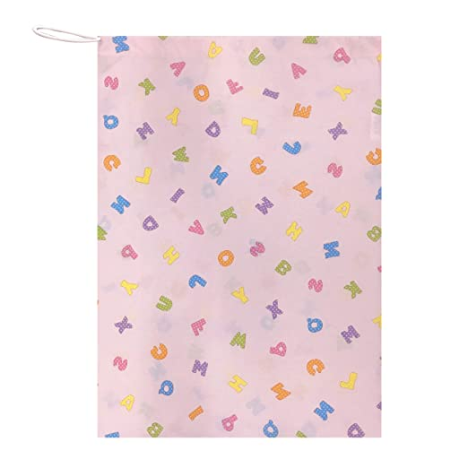 Panini Tessuti , Drawstring Bag For Children, Size 46 X 60 Cm, Perfect For Containing The Nap Sack In Daycare - Preschool - 100% Made In Italy