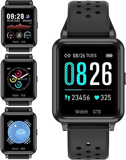 jpantech Smartwatch, Reloj Inteligente IP67 Pulsera Actividad ...