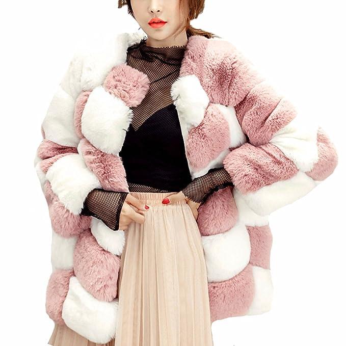 FOLOBE Mujer Invierno Espesa Abrigo cálido Lady Parka Chaqueta Outwear: Amazon.es: Ropa y accesorios