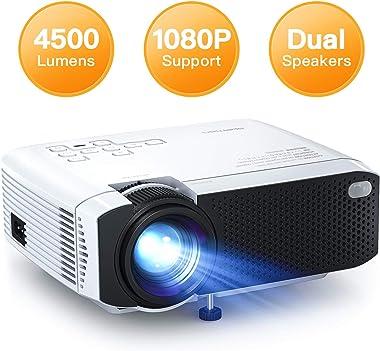 APEMAN Portable Mini Projector LC350