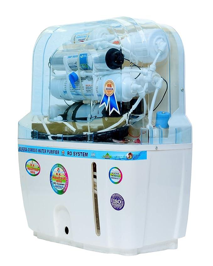07e1633ebc4 R.K. Aqua Fresh India 15-Liters RO+UV+UF+TDS Adjuster Water Purifier  (White)  Amazon.in  Home   Kitchen