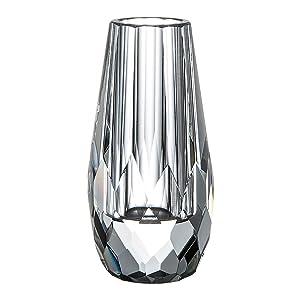 Claro jarrón de cristal jarrones de flores para mesa. Por donoucls 6 x 12 cm (STYLE1)
