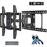 Mounting Dream TV Wall Mounts TV Bracket for 42-70 Inch TVs, Premium TV Mount, Full Motion TV Wall Mount with Articulating Ar